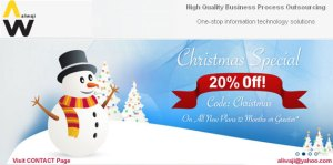 Aliwaji.com Christmas Offer hosting & Domain